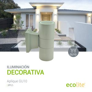 Ecolite: Aplique LED