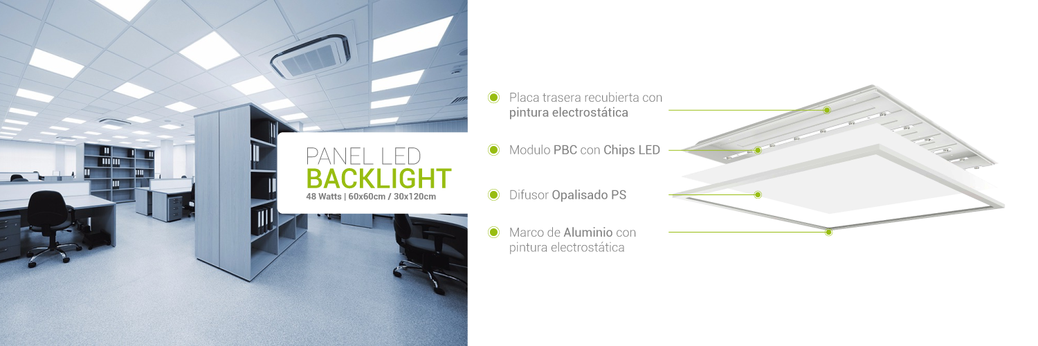 Panel LED Colombia
