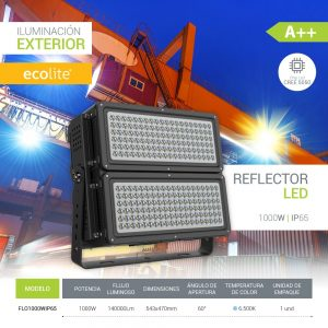 Ecolite: Reflectores LED 1000w