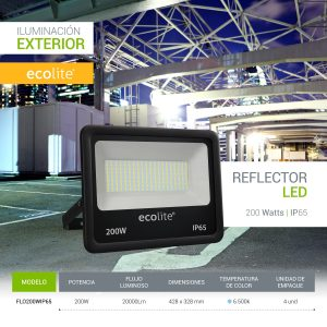 Ecolite: Reflectores LED 200w