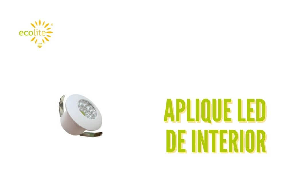 Aplique led de interior