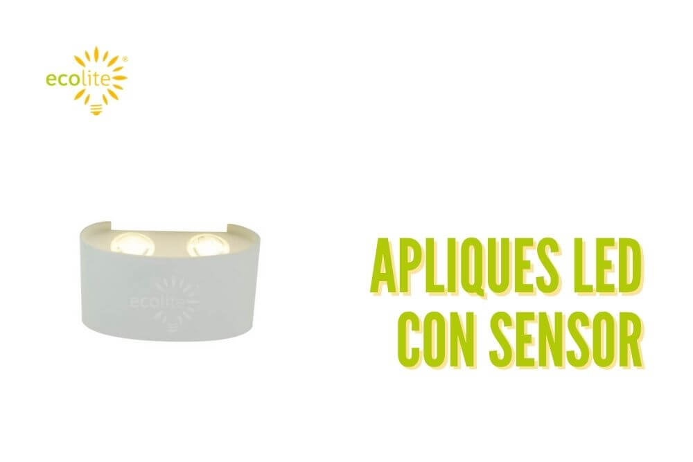 Apliques led con sensor de movimineto