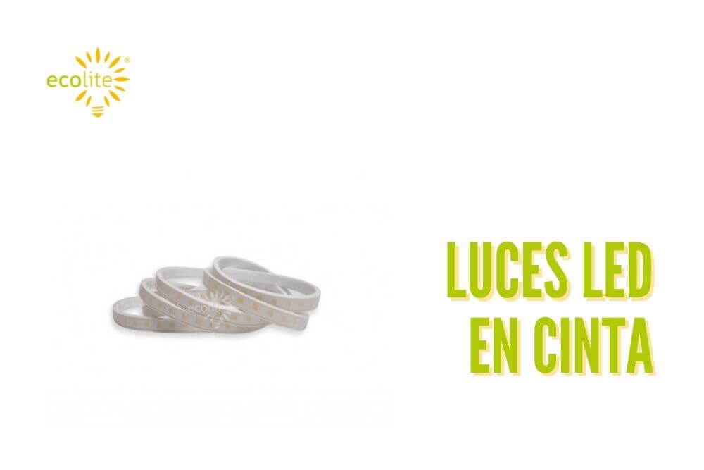 Luces led en cinta